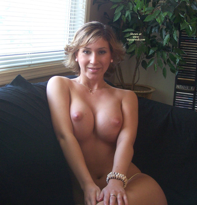 Pic #1 - Topless On A Couch - Big Tits, On The Couch, Sexy Boobs , Topless On A Couch, Sitting, Classic Sweetheart, Pillow Boobies, Big Tits, Pressing Boobs Together