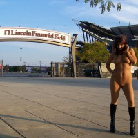 Nude Girl With Boots In Public - Dark Hair, Exhibitionist, Flashing, Nude In Public, Bald Pussy, Naked Girl, Nude Wife , Naked Girl At Lincoln Financial Field, Nude Girl On Street, Nude Wife On Heels, Public Nude, Nude Exhibitionst, Nude In The Parking Lot, Naked Girl In Public