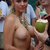 Jugs & Nuts - Blonde Hair, Long Hair, Topless