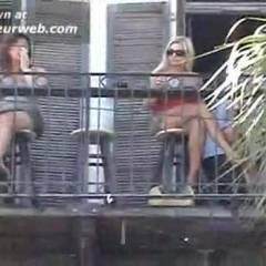 No Panty Upskirts In Key West!!!