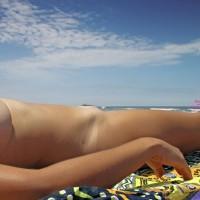 Ana Is Back On The Beach