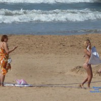 Moroccan Beach Babe Changes Top
