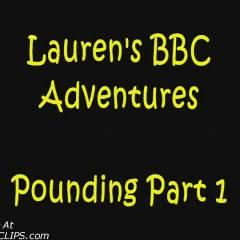 Lauren's Pounding