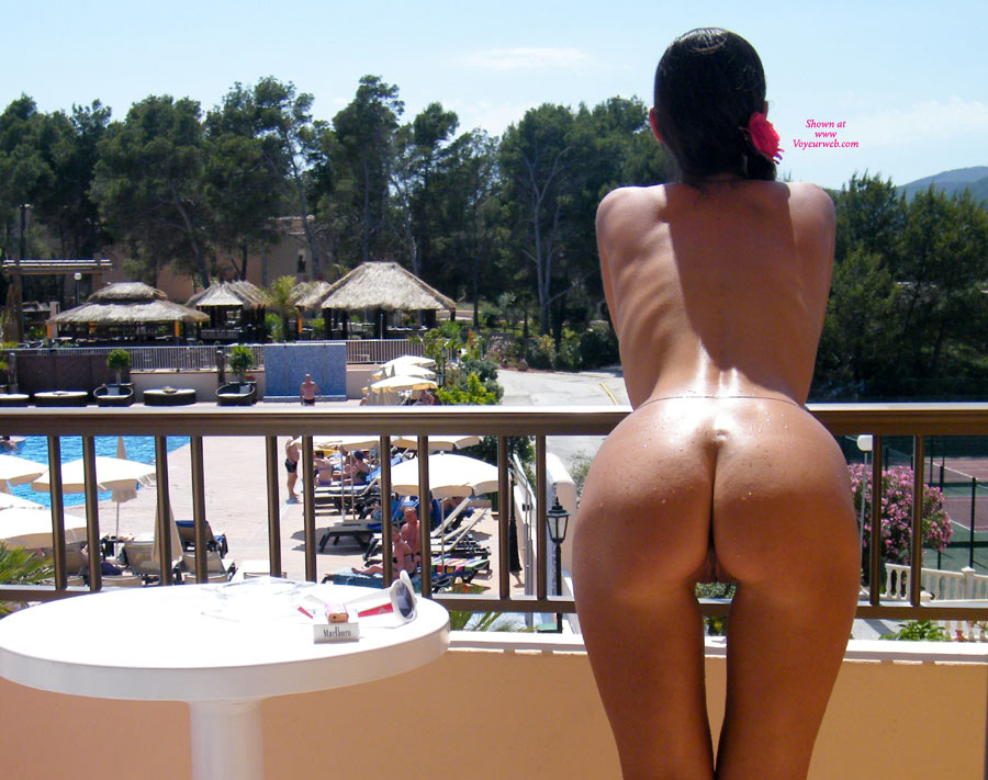 Nude Wife On Hotel Balcony Rear Shot - Nude Wife, Pussy From Behind, Sexy Ass , Sexy Pussy Gap, Resort Paradise, Firm Round Ass, Long And Lean, Sexy Heart Shaped Ass, Room With A View, Nice Sexy Ass, Puss From Behind