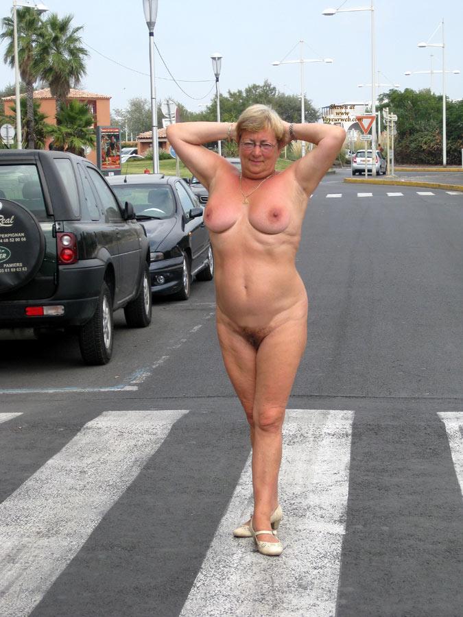 Pic #2 Naked Outside
