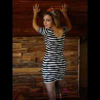 Jeni: Halloween Striping