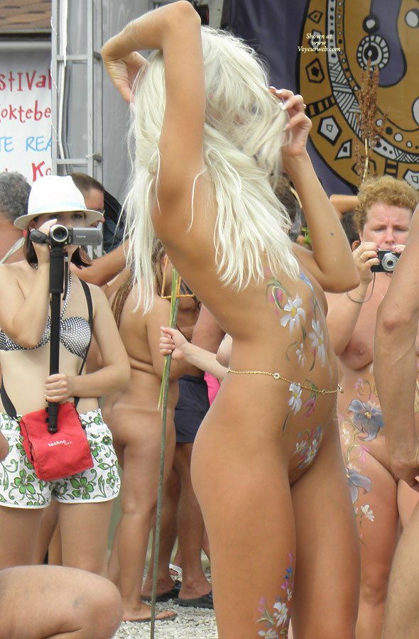 Black Sea ... Nudist Beauty Contest. Part I: Blonde ...