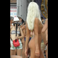 Black Sea ... Nudist Beauty Contest. Part I: Blonde