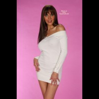 Clair S Little White Dress