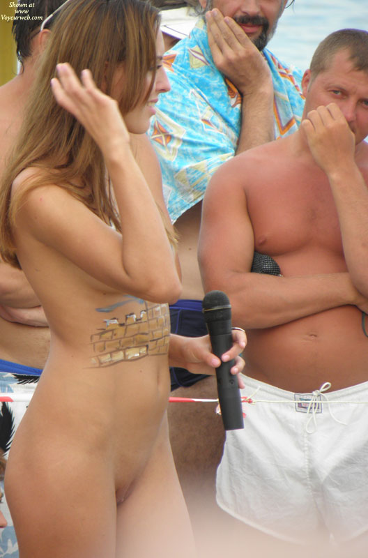 Pic #1 - Real Amateur Nudist Beauty Contest. Part II: Brunettes