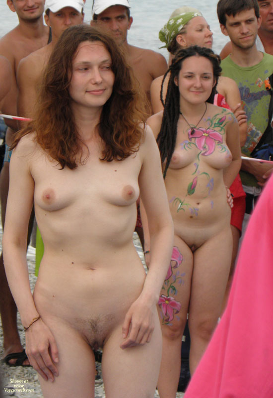 Pic #6 - Real Amateur Nudist Beauty Contest. Part II: Brunettes