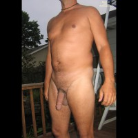 M*  Andy Nude On The Deck