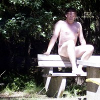 M* Naked Man In The Woods
