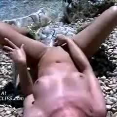 Stone Masturbation 4