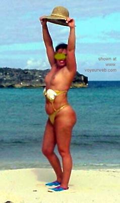 Pic #1 - Mary      Ann @ The Beach 2