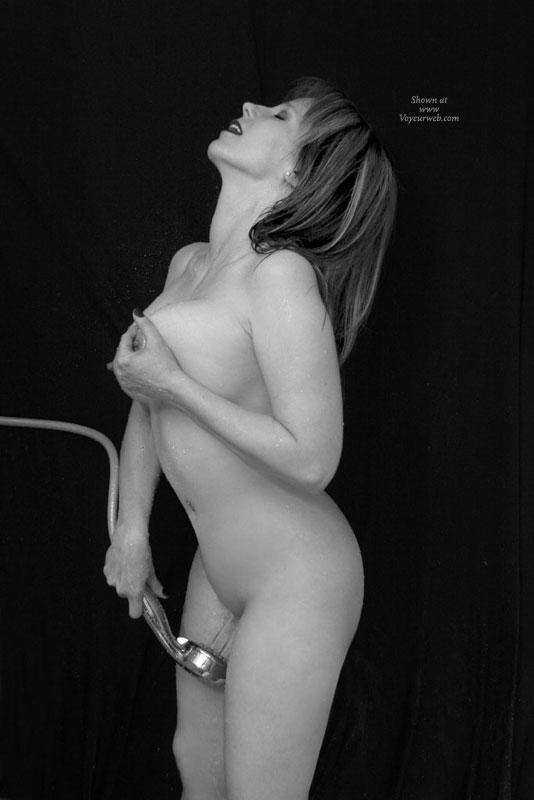 Pic #1 - Water Masturbation - Brunette Hair, Long Hair, Milf, Nude Wife , It Does A Body Good, Nude Wife Holding Tit, Nude Milf Spraying Pussy, Wet Pussy, Red Painted Fingernails, Handful Large Tits, Long Auburn Hair, Nude With Shower Spray, Redhead, Both Hands Staying Busy