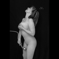 Water Masturbation - Brunette Hair, Long Hair, Milf, Nude Wife