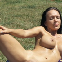 *sk Yvonne At German Beach