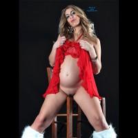 Pantieless Pregnant Wife - Milf
