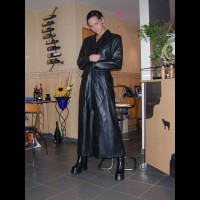 Tiny Minka In Black Leather