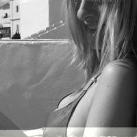 Black & White Lady