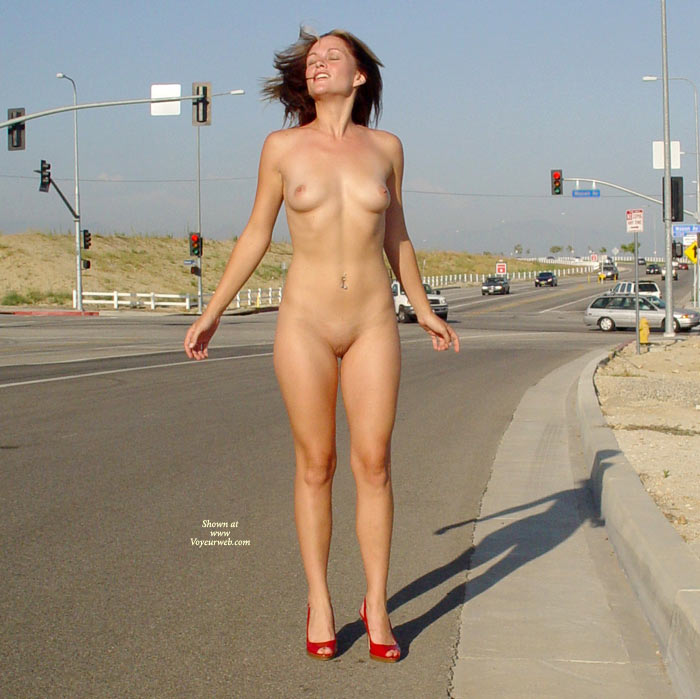 Pic #1 - Nude Girl On Street - Erect Nipples, Exhibitionist, Perky Tits, Shaved Pussy, Small Breasts, Small Tits, Naked Girl, Nude Amateur , Red Head, Naked Tolly, Small Perky Tits, Nude In Heels, Trim Body, Clean Pussy, Nude Exhibitionist