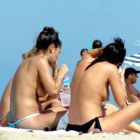 Friends On The Beach..