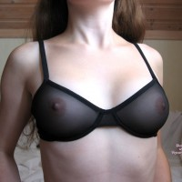 See Through Bra - Pale Skin