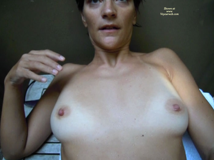 Pic #1 - Tits Ready For Cum , Wud Anyone Like To Cum On These Tits??