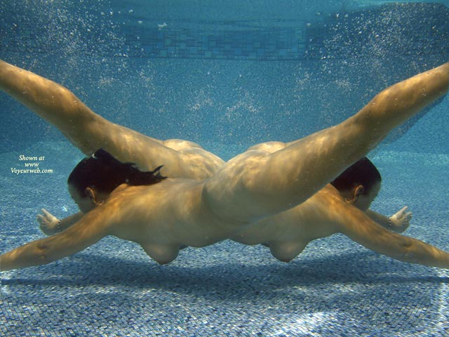 Pic #1 - Dance - Girls , Dance, Two Girls, Underwater, Nude Mermaids, Underwater Photo, Two Nude Fems, In Pool, Diving