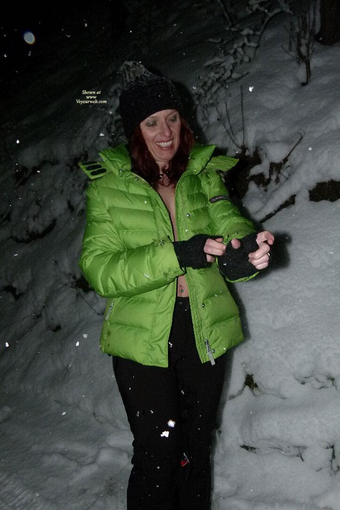 Pic #1 - Snowflakes , A Little Shooting In The Italian Alps.