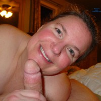 Smiling With Cock