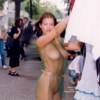 Naked In Public - Large Breasts, Nude In Public