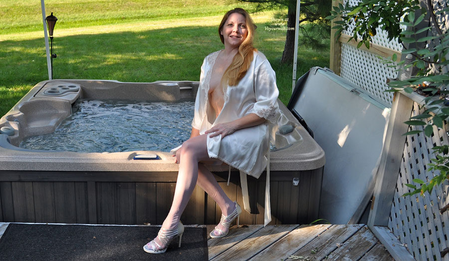 Pic #1 - On The Deck , Just Out By The Hot Tub