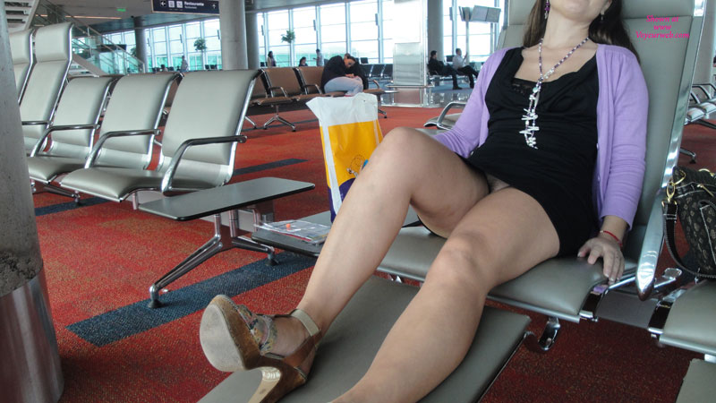 Pic #1 - Buenos Aires , At The Airport After A Long, Hot Night.