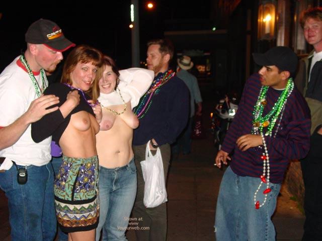 Pic #1 - Making New Friends At Mardi Gras!