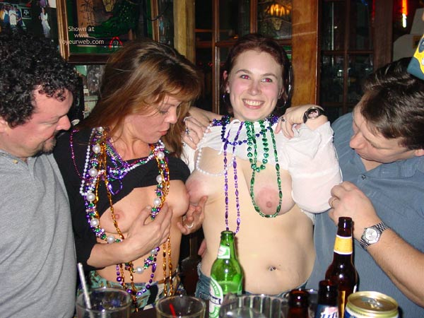 Pic #2 - Making New Friends At Mardi Gras!