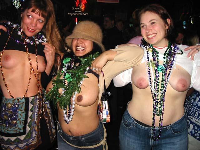 Pic #3 - Making New Friends At Mardi Gras!