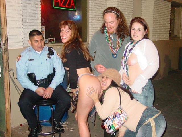 Pic #6 - Making New Friends At Mardi Gras!