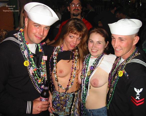 Pic #7 - Making New Friends At Mardi Gras!