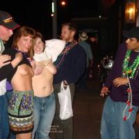 Making New Friends At Mardi Gras!