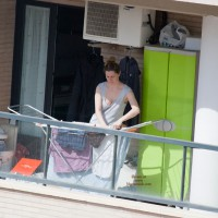 Neighbour Downblouse In The Terrace