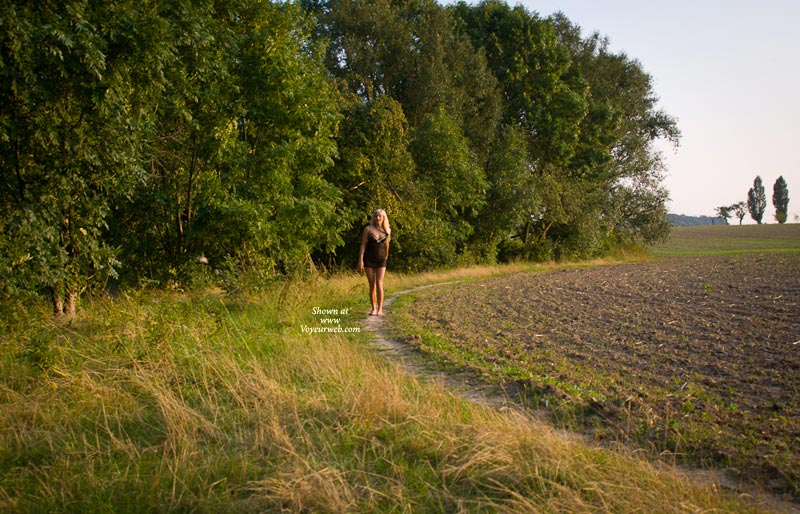 Seethrough Walk , Last Summer I Tried To Have A Naked Stroll. My Girlfriend Jeanette Told Me About The Good Feeling She Has Always When Doing This... It Was An Exciting Guess But For Me Not As Easy As It Looks! So I Dressed Me With A Little Seethrough. Hope You Like It.