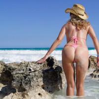 Sally Farther Down The Beach