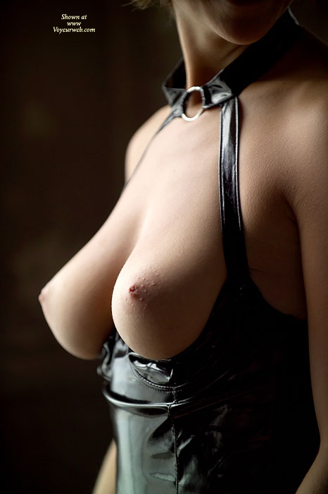 Pic #1 - Tits On Display - Topless , Top Down Showing Tits, Very Sexy Tits, Pvc Playsuit, S & M Boobs, Quarter Cup Playsuit, Black Pvc Topless Suit, Torpedo Tits, Pointy Breasts, Beautiful Tits, Sexy, Erotic Breasts
