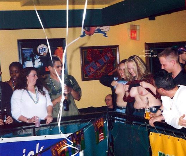 Pic #1 - Radio Station Mardi Gras Party