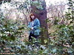 Pic #5 - My ex in the woods