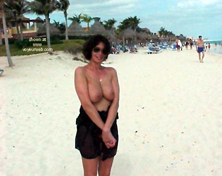 Pic #4 - Kate on the beach