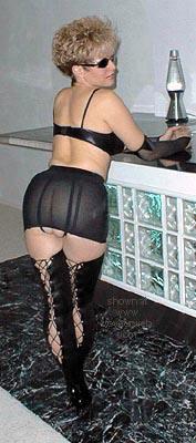 Pic #2 - Jen on the Bar
