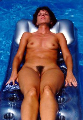 Pic #4 - More Sunbather Wife